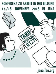 Jena / FAU: AkademikerIn auf Abruf - Konferenz zu Basisorganisierung und Arbeitskämpfen in Hochschul- und Bildungsbetrieben @ Haus auf der Mauer | Jena | Thüringen | Deutschland